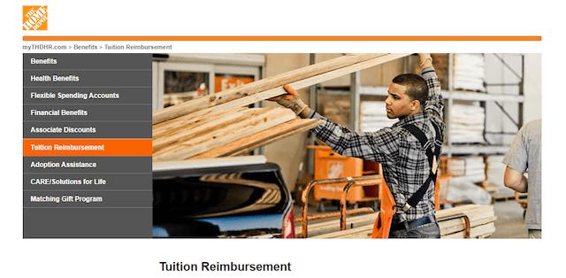 Tuition reimbursements